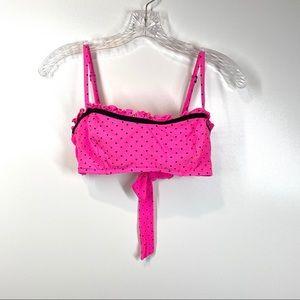 Coco Rave Bikini Top Polka Dot Underwire DEMI BRA